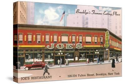 Joe's Restaurant, Brooklyn, New York City