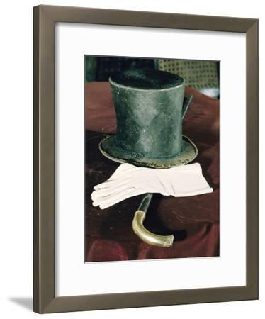 Abraham Lincolns Hat, Cane, and Gloves