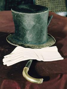 Abraham Lincolns Hat, Cane, and Gloves by Joe Scherschel