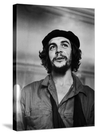 "Cuban Rebel Ernesto ""Che"" Guevara with His Left Arm in a Sling"