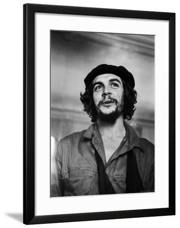 """Cuban Rebel Ernesto """"Che"""" Guevara with His Left Arm in a Sling"""