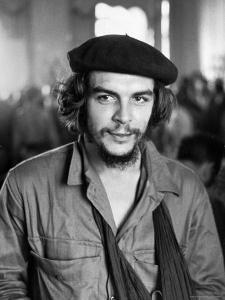 "Cuban Rebel Ernesto ""Che"" Guevara with His Left Arm in a Sling by Joe Scherschel"
