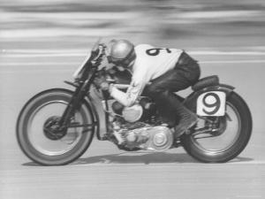 Daytona Beach Motorcycle Races by Joe Scherschel