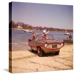 German Made Amphicar, a Car That Drives on Water by Joe Scherschel