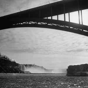 Niagara Falls Viewed from a Point under the Rainbow Bridge by Joe Scherschel