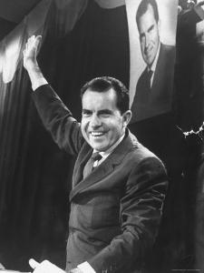 Vice President Richard Nixon by Joe Scherschel