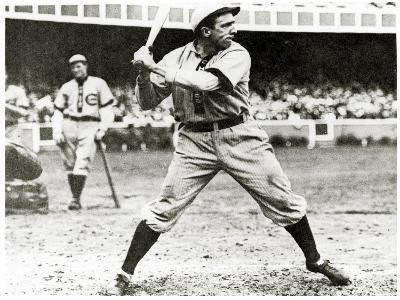 Joe Tinker of the Chicago Cubs in Action During 1906--Giclee Print