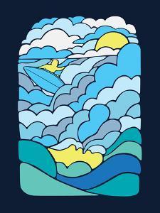Cloudsurfing by Joe Van Wetering