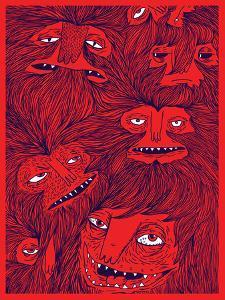 Hairwolves by Joe Van Wetering