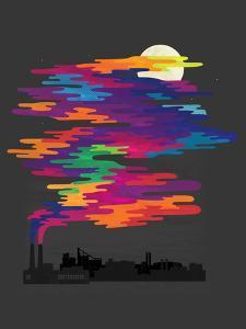 Hidden In The Night Smog by Joe Van Wetering