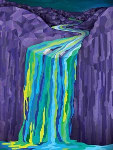 The Great Waterfall by Joe Van Wetering