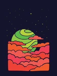 The Green Moon Rises by Joe Van Wetering