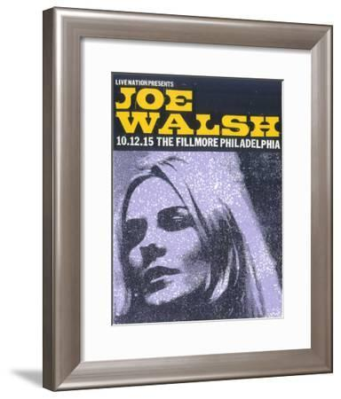 Joe Walsh-Print Mafia-Framed Serigraph