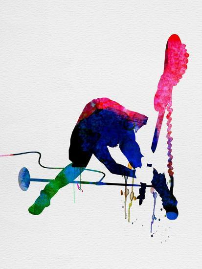 Joe Watercolor-Lora Feldman-Art Print