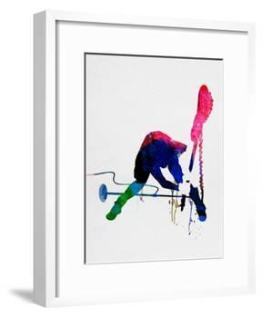 Joe Watercolor-Lora Feldman-Framed Art Print