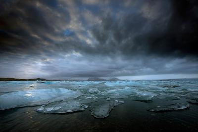 Jökulsárlón Lagoon and Ice-Ann Clark Landscapes-Photographic Print