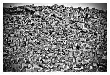 Favela Village in El Alto, La Paz, Bolivia-Joel Alvarez-Photographic Print