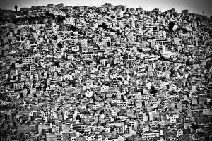 Favela Village in El Alto, La Paz, Bolivia by Joel Alvarez