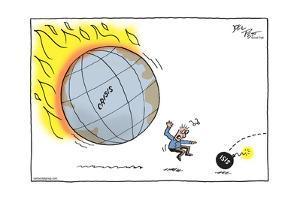 Crisis. ISIS. by Joel Pett