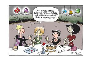 … To proportional representation … Before our granddaughters reach menopause! Menu. by Joel Pett