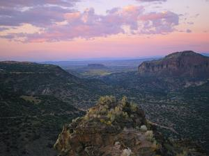 A View Northward Over the Rio Grande River Valley by Joel Sartore