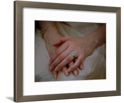 Close View of a Brides Hands