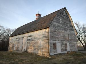 The 1885 Barn at Historic Waveland Farm by Joel Sartore