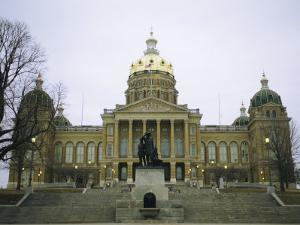 The Iowa State Capitol Building by Joel Sartore
