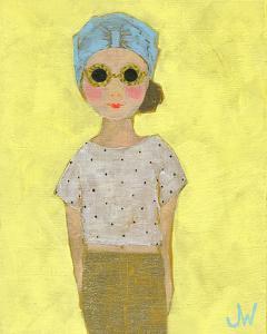 Petite Fille en Beige by Joelle Wehkamp