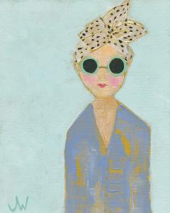 Petite Fille en Bleu by Joelle Wehkamp