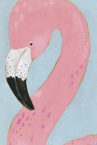 Tropical Birds - Flamingo by Joelle Wehkamp