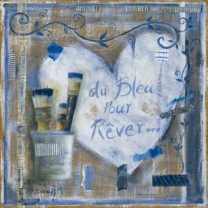 Coeur Bleu pour Rever by Joëlle Wolff