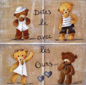 Dites le Avec les Ours by Joëlle Wolff
