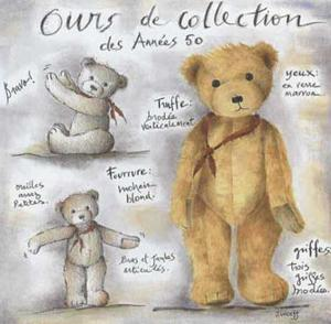 Ours de Collection des Annees 50 by Joëlle Wolff