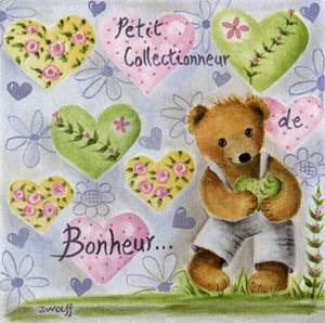 Petit Collectionneur de Bonheur by Joëlle Wolff