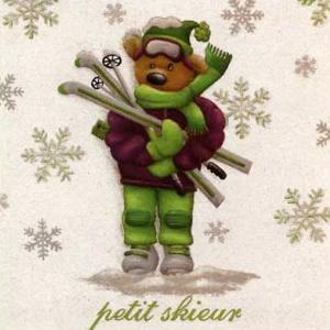 Petit Skieur by Joëlle Wolff