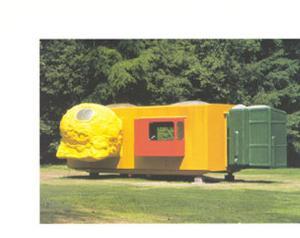 Mobile Home for Kroller Muller, c.1995 by Joep Van Lieshout
