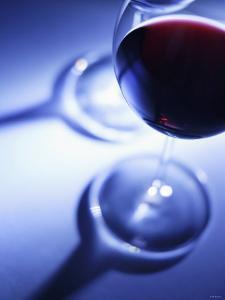 A Glass of Red Wine by Joerg Lehmann