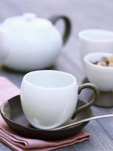 Table Laid for Tea by Joerg Lehmann
