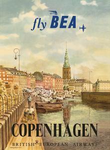 Copenhagen, Denmark - British European Airways (BEA) by Jörgen Brendekild
