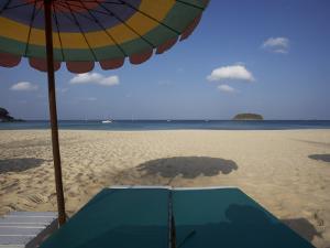 Wiew from a Sunbed, Kata Beach, Phuket, Thailand by Joern Simensen