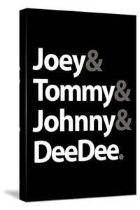 Joey Tommy Johnny and DeeDee Music Poster