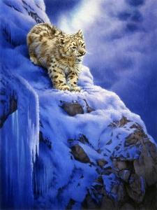 Snowy Cliff by Joh Naito