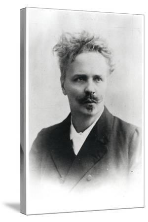 Johan August Strindberg (1849-1912)-Reutlinger Studio-Stretched Canvas Print