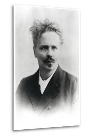 Johan August Strindberg (1849-1912)-Reutlinger Studio-Metal Print