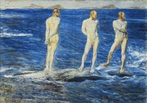 Salt, Wind and Sea, 1906, 1909 by Johan Axel Gustav Acke