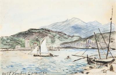 Port Vendres (W/C on Paper)