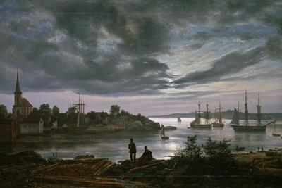 Larvik by Moonlight
