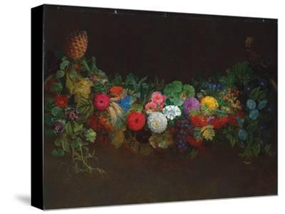 A Magnificent Garland of Fruit and Flowers, 1840