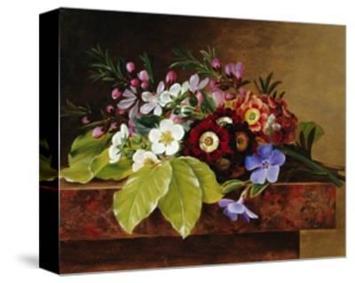 A Bouquet of Apple and Cherry Blossoms, and Primula